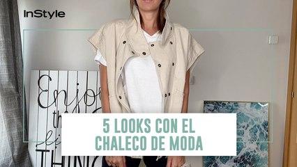 5 looks con el chaleco de moda de Pull & Bear que arrasa entre las que más saben de moda