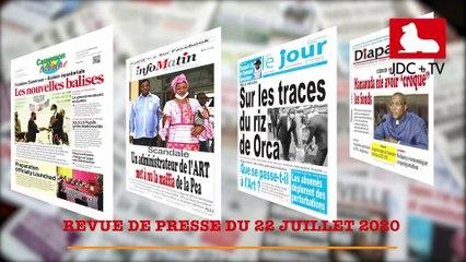 REVUE DE PRESSE CAMEROUNAISE DU 22 JUILLET 2020