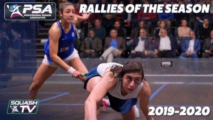 Squash: Top 10 Rallies of the Season 2019/20