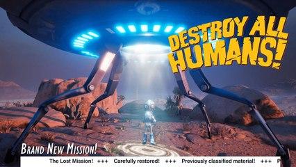 Destroy All Humans! 2020 - Lost Mission Teaser