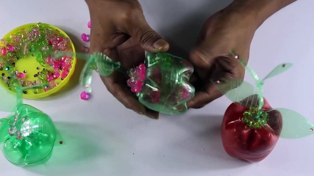 How To Make Amazing Flower Tree With Plastic Bottles   Owahidf   New Craft Idea's  2020