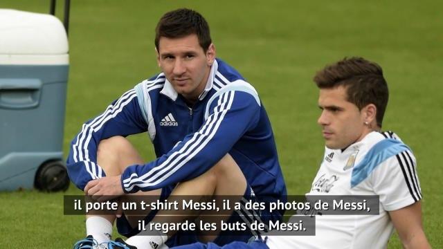 """Barcelone - Gago : """"Mon fils adore Lionel Messi"""""""