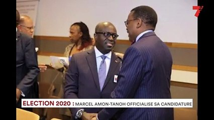 Election 2020: Marcel Amon Tanoh officialise sa candidature