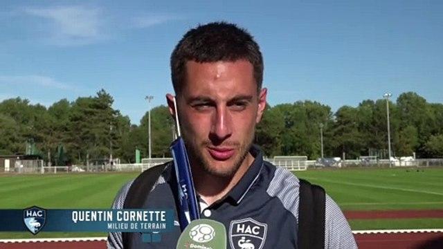 Après Reims - HAC (3-0) en amical, réaction de Quentin Cornette