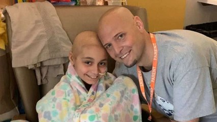 Father-Step Daughter Duo Fight Cancer And Give Back Together