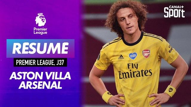 Le grand format d'Aston Villa - Arsenal