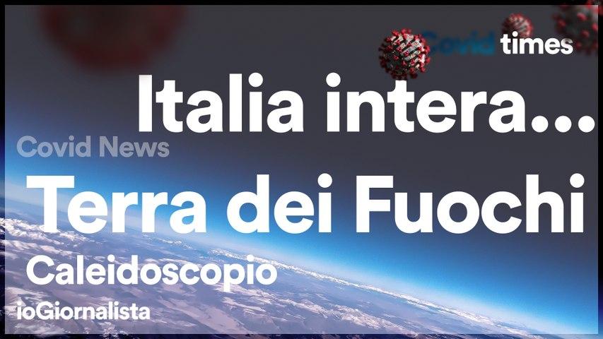 Italia, Terra dei Fuochi... tutta intera...
