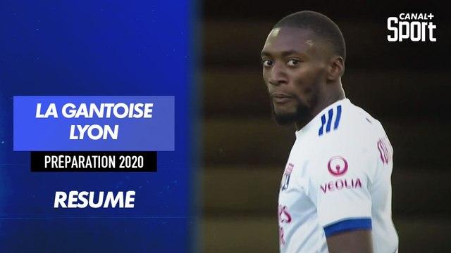 Les buts de La Gantoise - Lyon