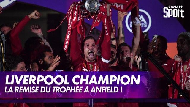 Liverpool peut enfin soulever son trophée de champion !