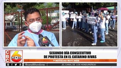 Segundo día consecutivo de protesta en el Catarino Rivas