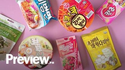 Must-Try Korean Snacks From Korean Groceries