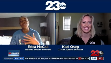 Part One: Kari goes one-on-one with Erica McCall