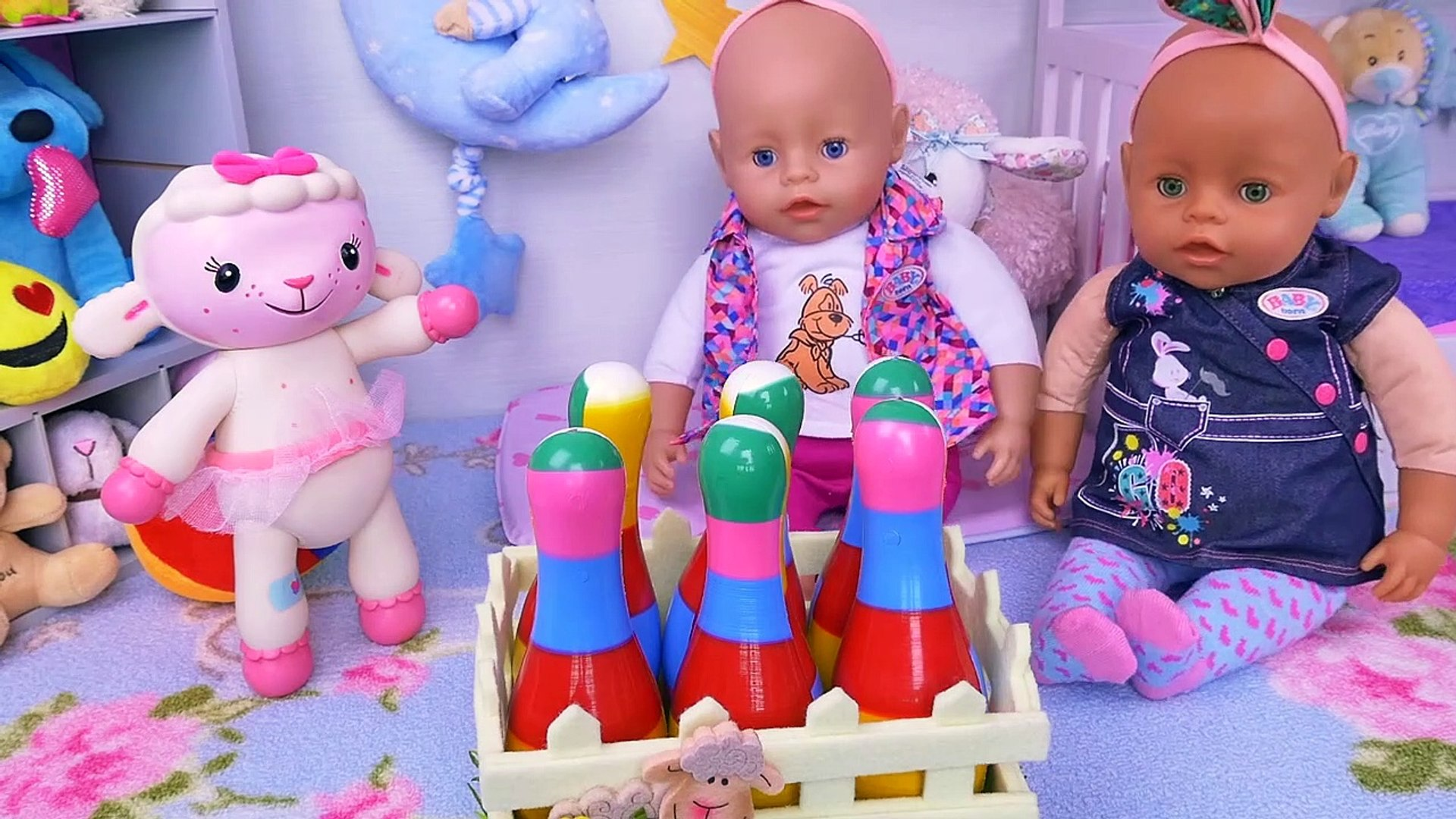 Baby Born Twin Dolls Morning Routine In Bunk Bed Room Video Dailymotion