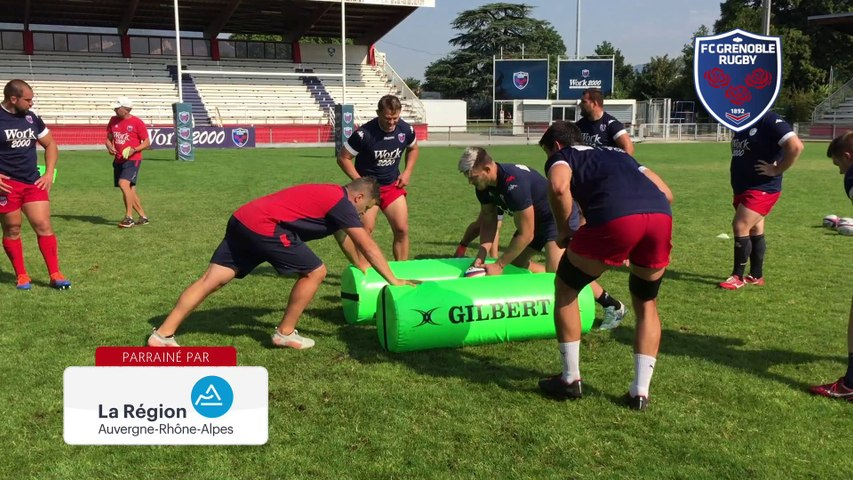 Rugby : Video - Exercice de grattage