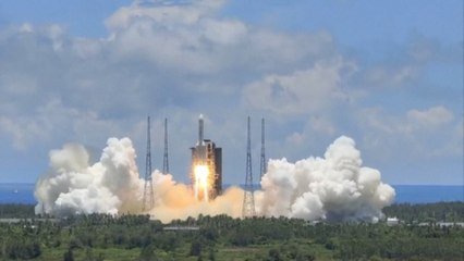 China launches mission to Mars with lift-off of home-grown Tianwen-1 spacecraft