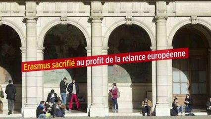 Erasmus sacrifié au profit de la relance européenne