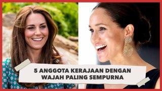 5 Putri Kerajaan yang Dinilai Punya Wajah Paling Sempurna