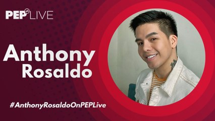 Anthony Rosaldo performs in PEP Live