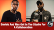 F78NEWS: Davido And Nas Get In The Studio For A Collaboration