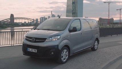 The new Opel Vivaro-e Van Design