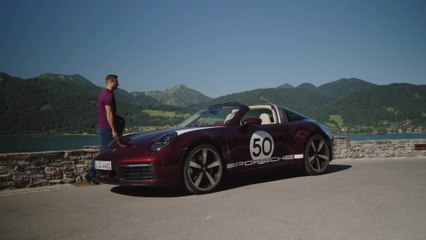 The new Porsche 911 Targa 4S Heritage Design Edition in Cherry Preview