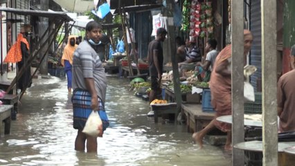 Nearly one-third of Bangladesh under water as monsoon floods affect millions of people