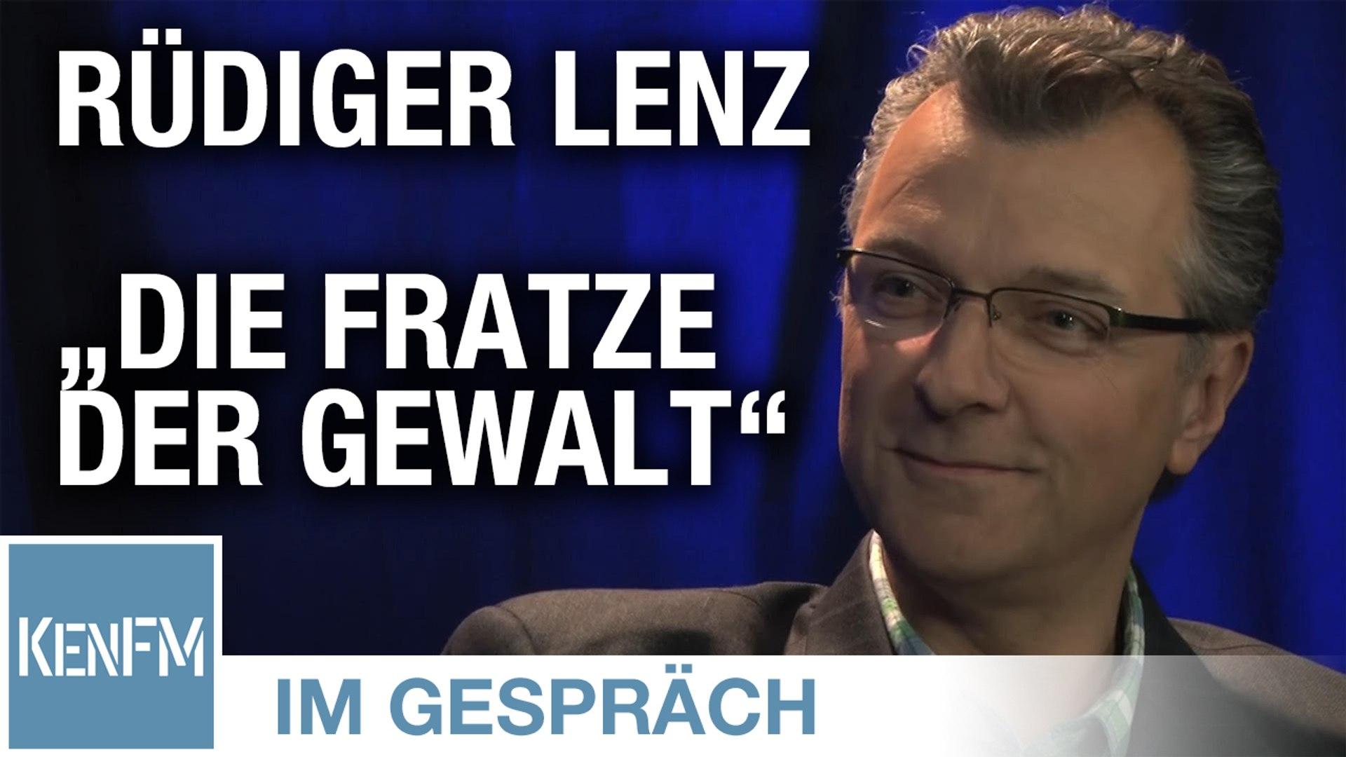 """KenFM im Gespräch mit: Rüdiger Lenz (""""Die Fratze der Gewalt"""")"""