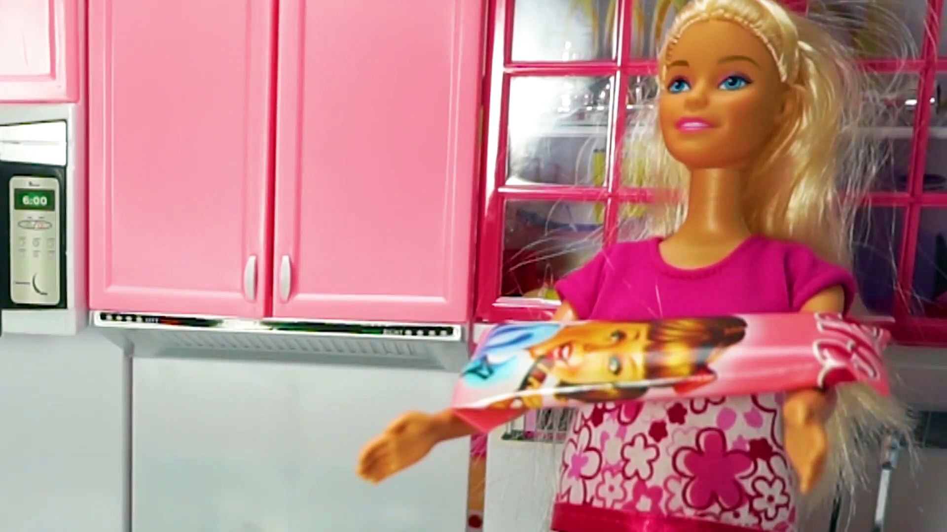 Barbie Doll Kitchen Set Barbie Cooking Video For Kids Kids Toys Video Video Dailymotion