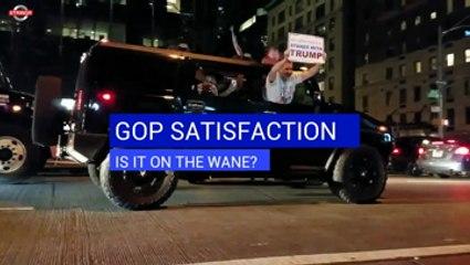 GOP Satisfaction: Is It On The Wane?