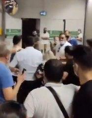 Ayasofya yolcuları kadına böyle saldırdı