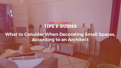 Here's One Important Thing to Consider When Decorating a Small Home