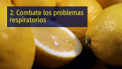 8 propiedades y beneficios del limón