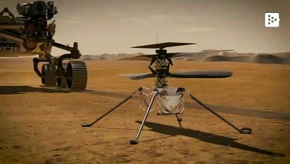 Ingenuity, the helicopter that NASA wants to send to Mars