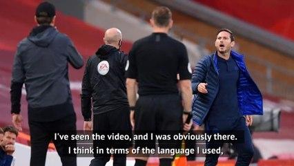 Lampard regrets language as Klopp insists 'we're not arrogant'