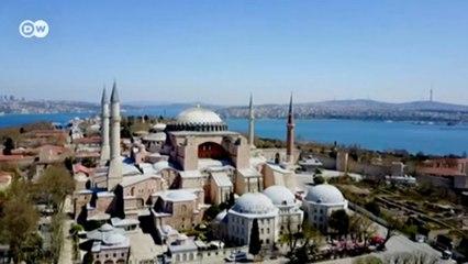 Собор святой Софии в Турции стал из музея мечетью: что говорят в Стамбуле о решении Эрдогана? (24.07.2020)