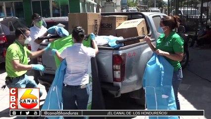Supermercado La Colonia dona equipos de bioseguridad a IHSS