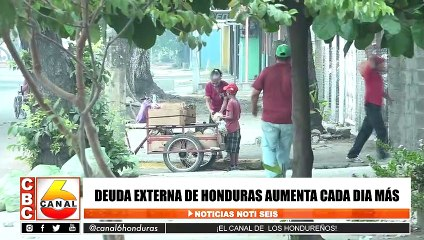 Deuda externa de Honduras aumenta cada día mas