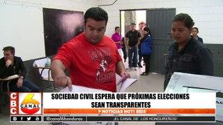 Sociedad civil espera que próximas elecciones sean transparentes