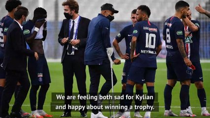 Coupe de France win tinged with sadness after Mbappe's injury - Thiago Silva