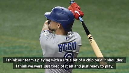 Blue Jays ready to play in Buffalo with a 'chip on their shoulder' - Biggio