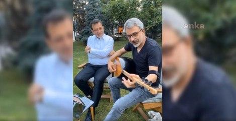 İmamoğlu türkü söyledi