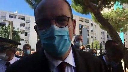 Le Premier ministre Jean Castex explique sa venue dans le quartier des Moulins à Nice