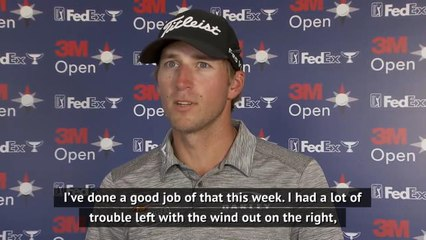 Thompson eyes FedEx Cup after tying Werenski's lead at 3M Open