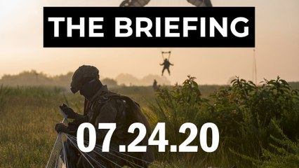 A Fort Bragg soldier disappears, and Russians with throwing-shovels - The Briefing, 7.24.20