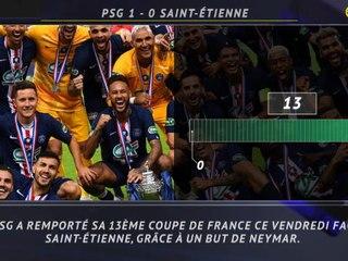 Coupe de France : Finale - 5 choses à retenir de la finale entre le PSG et Saint-Étienne