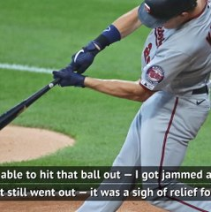 Kepler relieved after home run heroics