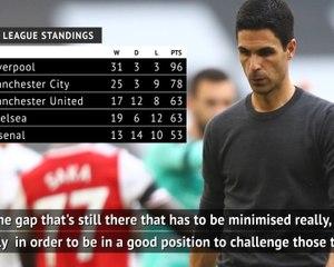 Arteta 'hurt' by Arsenal's inconsistencies this season