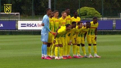 Le résumé de RSC Anderlecht - FC Nantes (0-0)