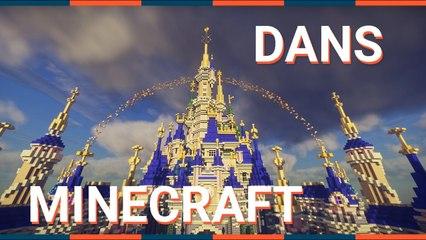 Visitez DISNEYLAND PARIS dans MINECRAFT !