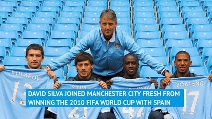 David Silva - A decade at Man City